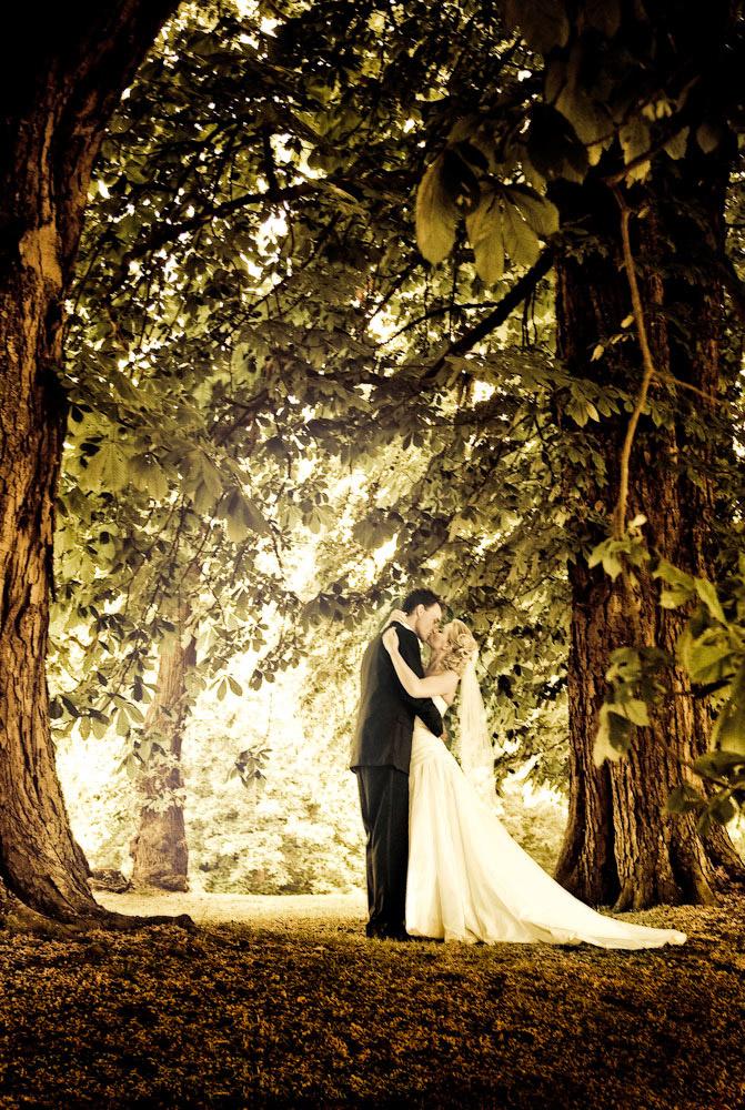 Bryllupsbilleder ved fotografen