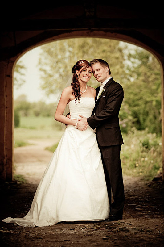 klassisk bryllupsfoto