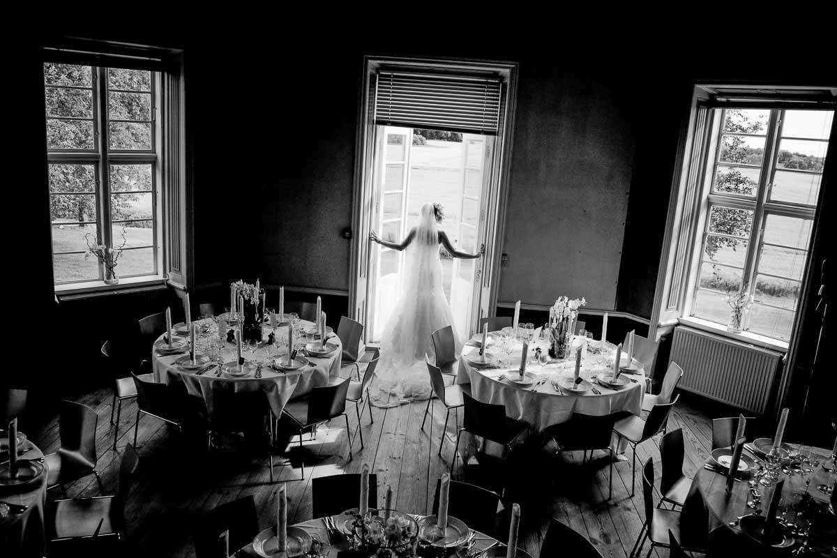 bryllupsfotograf slot sjælland
